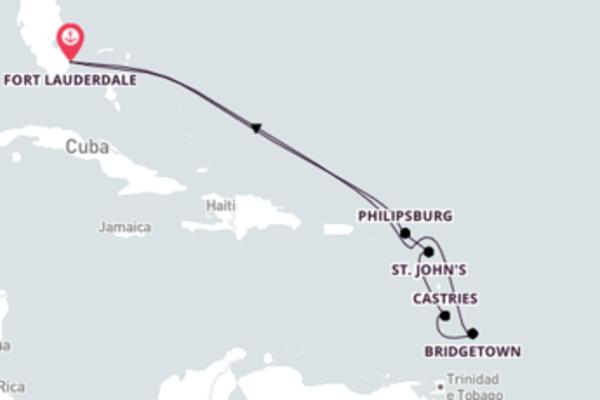 Maravilhoso cruzeiro até Fort Lauderdale, Flórida