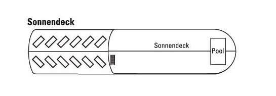 Komfort-Nilschiff Deck 4 Brückendeck