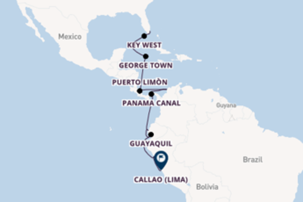 Travelling with the Azamara Quest to Callao from Miami