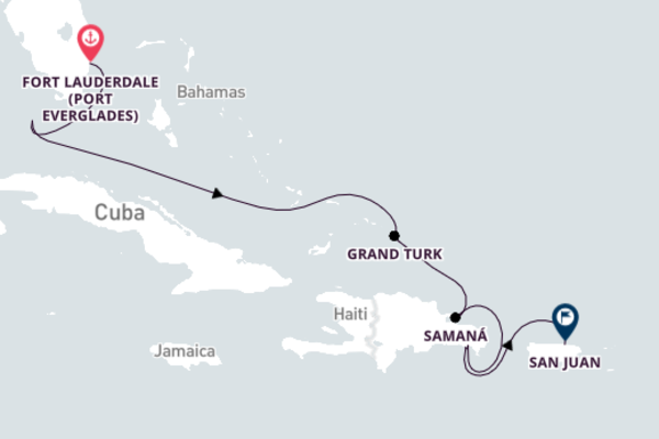 8-Night Caribbean Cruise from Fort Lauderdale to San Juan