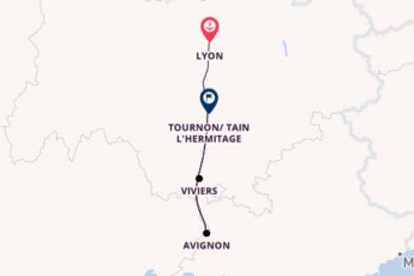 Journey with CroisiEurope from Lyon to Tournon/ Tain L'Hermitage