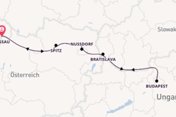 Faszinierende Reise nach Passau, Deutschland