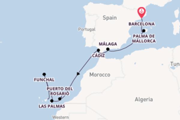 Geniet van het waanzinnige Puerto del Rosario, Fuerteventura met AIDA
