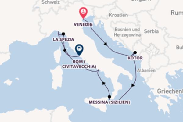 Beeindruckende Reise ab Venedig