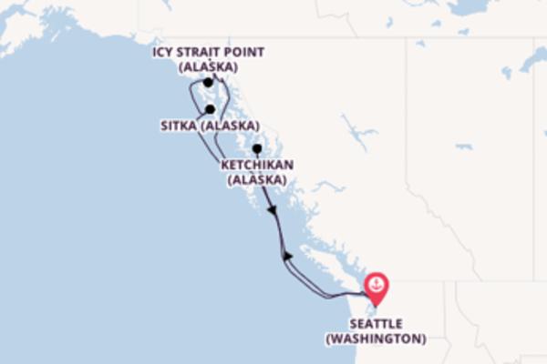 Charmante croisière avec Oceania Cruises pendant 11 jours