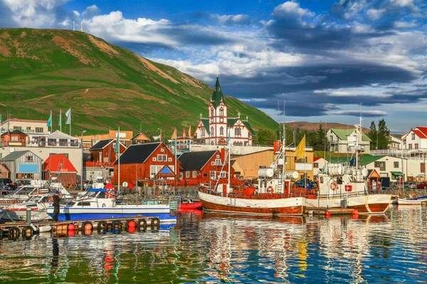 Húsavík, noord IJsland