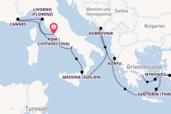 In 11 Tagen nach Piräus (Athen) über Kuşadası (Ephesus)