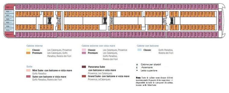 Costa neoriviera fino a 16 nuove offerte crociere for 2 piani piano cabina storia