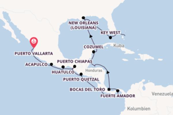 Zwischen Pazifik, Panama und Bahamas