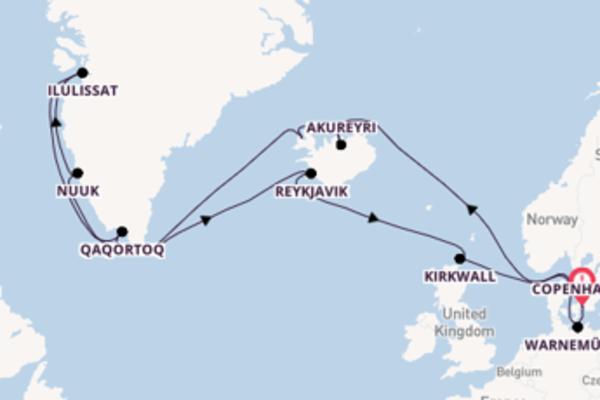 A bordo di MSC Poesia fino a Copenhagen