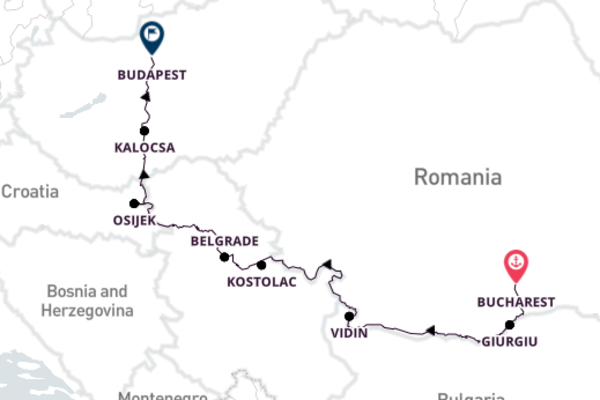 Bucharest to Budapest with Emerald Waterways