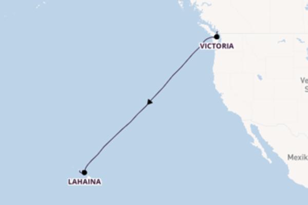 Genießen Sie 11 Tage Victoria und Honolulu
