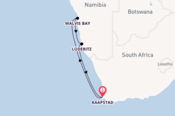 In 6 dagen naar Kaapstad