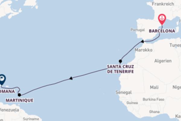 14 Tage unterwegs mit der Costa Magica