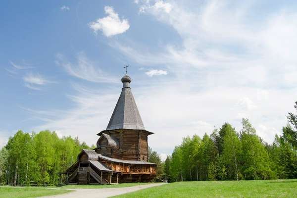 Arkhangelsk (Arkhanguelsk), Russie