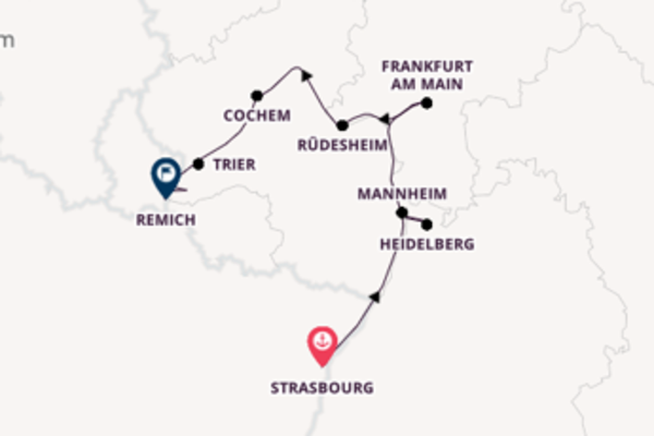 Picturesque trip from Strasbourg with CroisiEurope