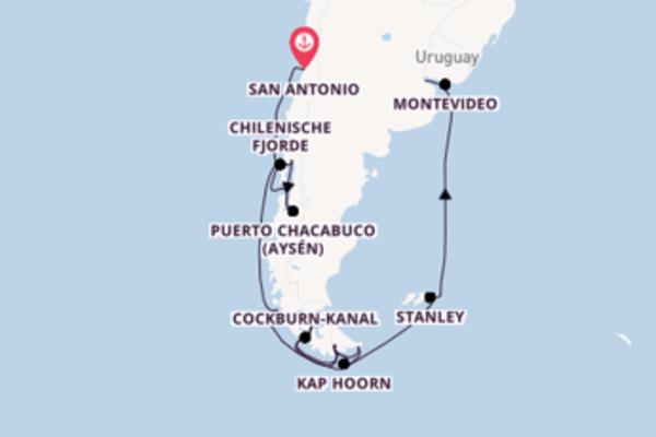 In 15 Tagen nach Buenos Aires über Montevideo