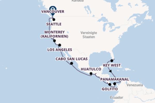 30 Tage Pazifik Kreuzfahrt