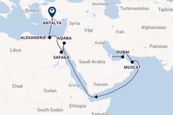 Geniet van het betoverende Safaga met TUI Cruises