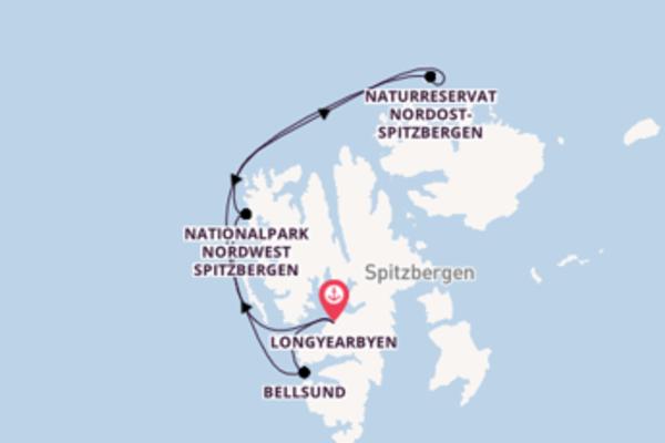 Kreuzfahrt mit der Fram nach Naturreservat Nordost-Spitzbergen