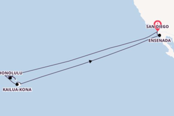 16-daagse cruise naar Hilo