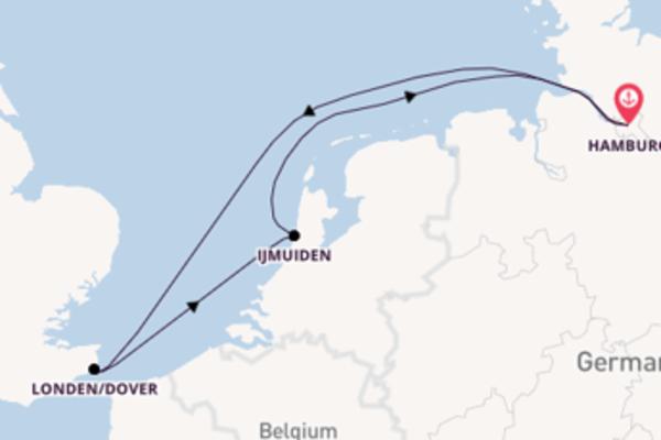 5-daagse reis naar Hamburg
