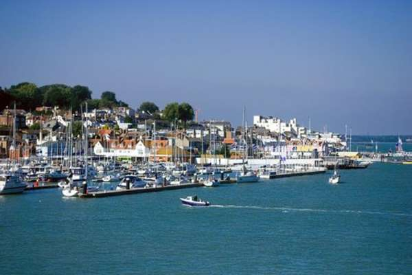 Cowes/Isle of Wight, Engeland
