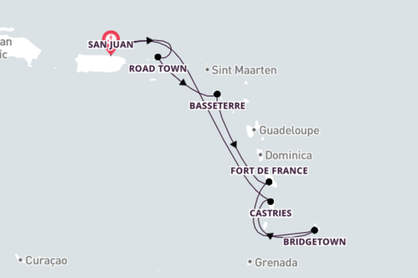 Spectacular Basseterre with Royal Caribbean
