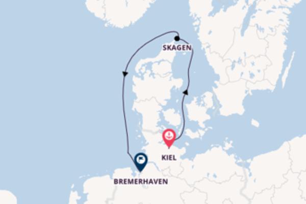 Kiel und Skagen genießen