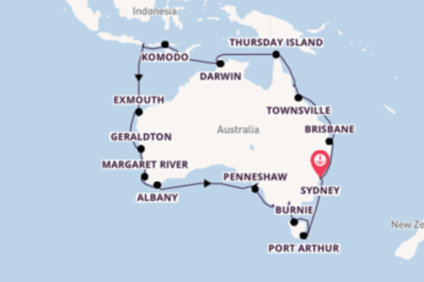 Delizioso viaggio di 36 giorni a bordo di Regatta