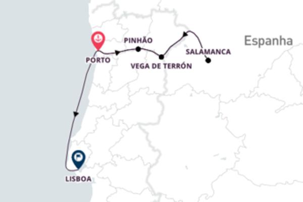 Lisboa, Porto e o Rio Douro
