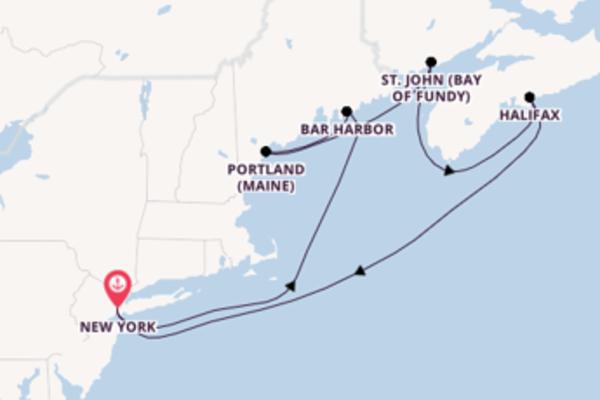 Kreuzfahrt mit der Norwegian Breakaway nach New York