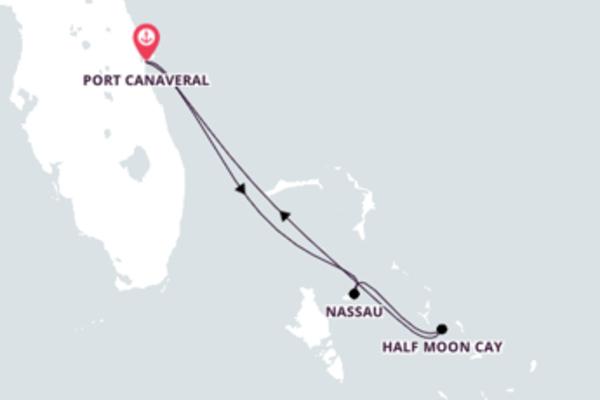 Visite as Bahamas com o Carnival Liberty
