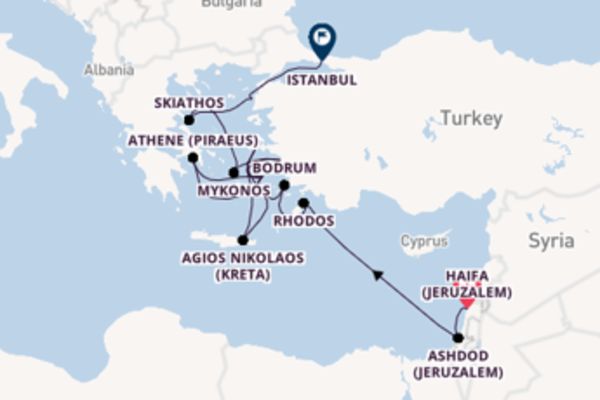 Ga mee op de Seabourn Encore naar Istanbul