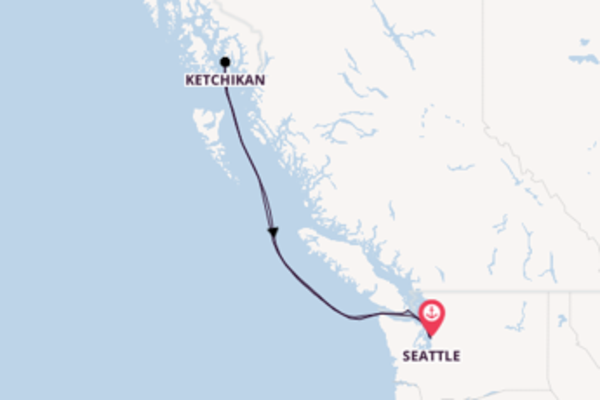 Trip with Norwegian Cruise Line from Seattle
