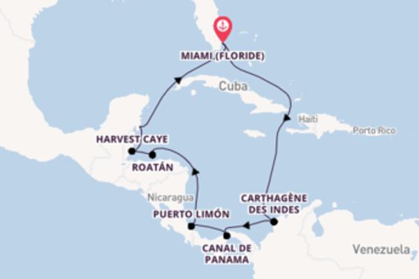 Inoubliable croisière de 12 jours avec Norwegian Cruise Line