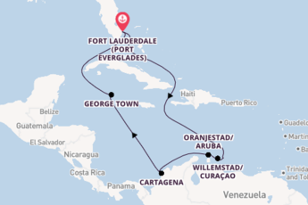 Iconic trip from Fort Lauderdale (Port Everglades) with Celebrity Cruises