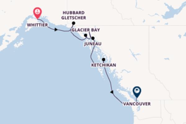 8 Tage Alaska Reise