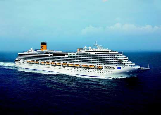 Cinque giorni sul mediterraneo costa favolosa costa for Costa pacifica piano nave
