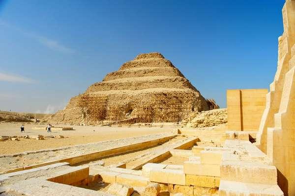 Saqqarah, Égypte