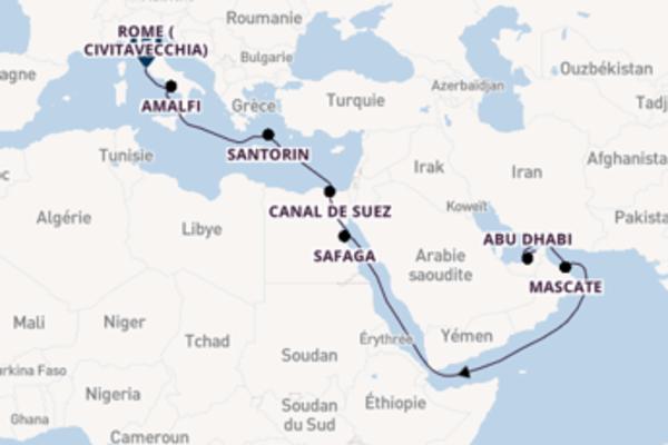 Douce balade de 19 jours au départ de Dubaï