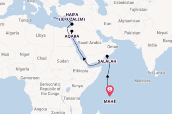 Bezichtig het sprankelende Aqaba in 18 dagen