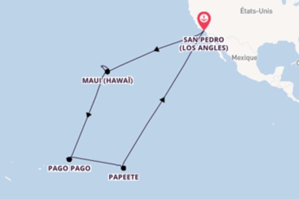 29 jours pour découvrir Honolulu (Hawaï) à bord du beateau Star Princess