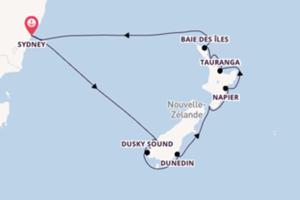 Douce croisière de 14 jours avec Royal Caribbean