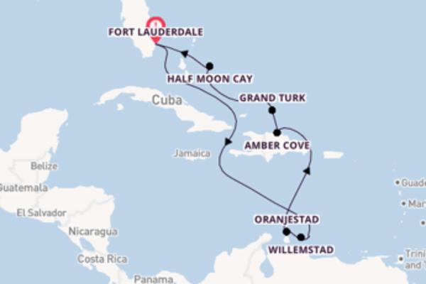 11-daagse reis aan boord van de Nieuw Statendam