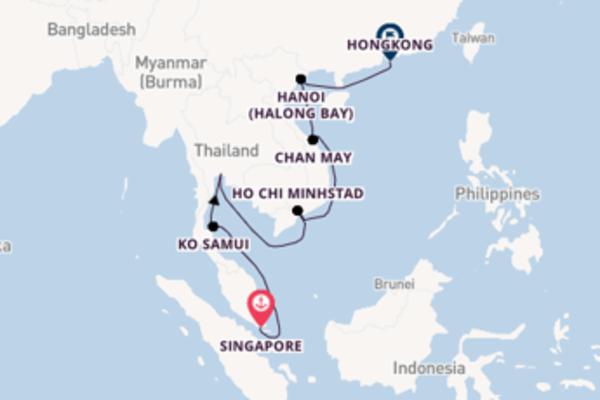 Cruise met TUI Cruises naar het waanzinnige Hongkong