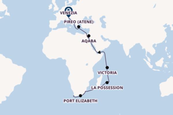 Crociera da Città del Capo verso Port Louis