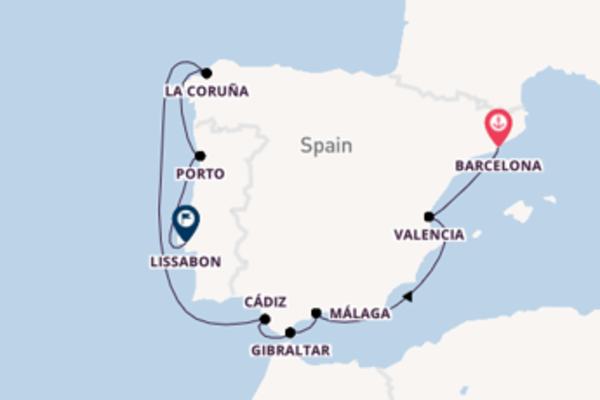 Ontdek La Coruña met Celebrity Cruises