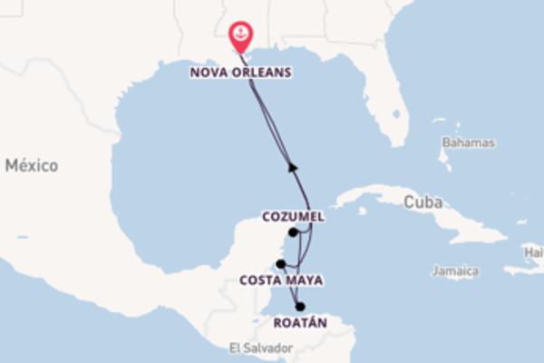 Navegando no Majesty of the Seas por 8 dias