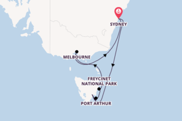 Sensational cruise from Sydney with Princess Cruises